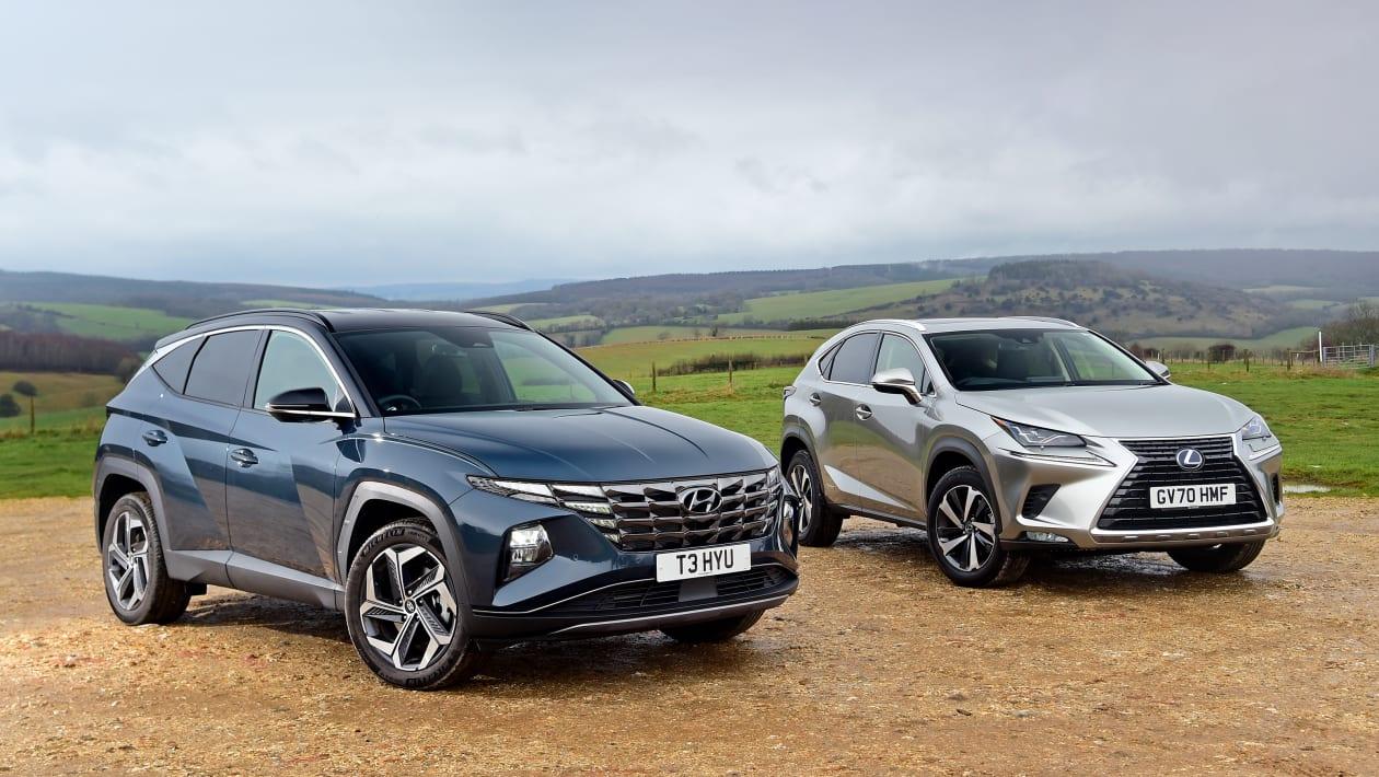 Hyundai Tucson vs Lexus NX 8 - مقایسه کامل دو کراس اوور محبوب: هیوندای توسان در برابر لکسس NX