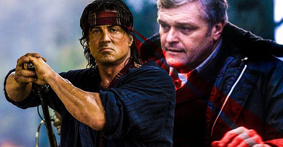 sylvester Stallone Rambo 4 original villain return teasle - نسخه ای متفاوت از Rambo 4 که شاهد بازگشت شخصیت منفی اولین خون بود