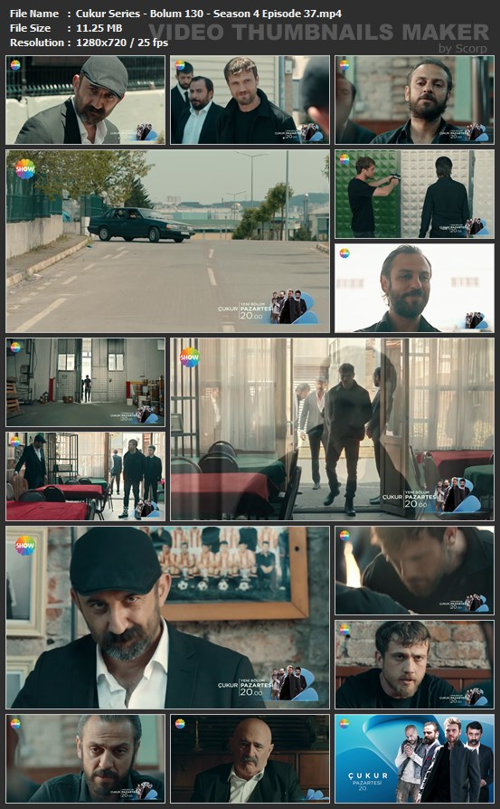 Cukur Series Bolum 130 Season 4 Episode 37 mp4 - دانلود قسمت 130 سریال گودال ❤️ [Cukur] با زیرنویس فارسی
