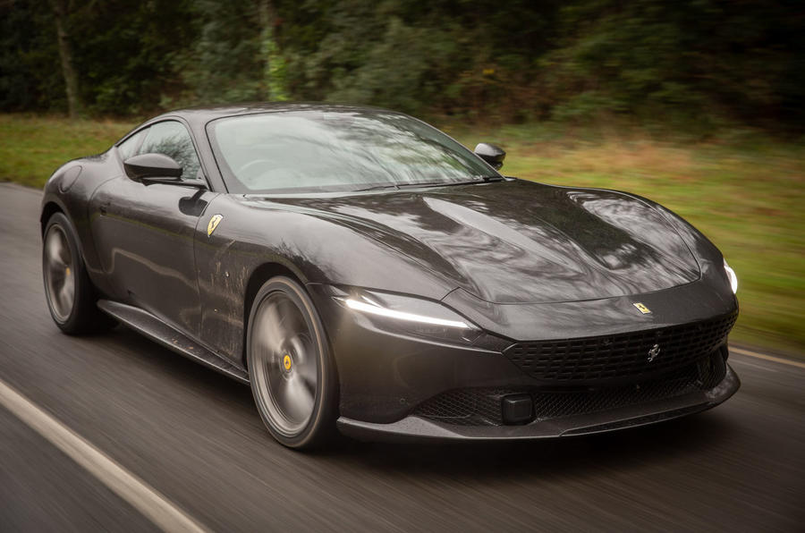 1 ferrari roma 2021 uk first drive review hero front - اولین تجربه رانندگی با فراری روما