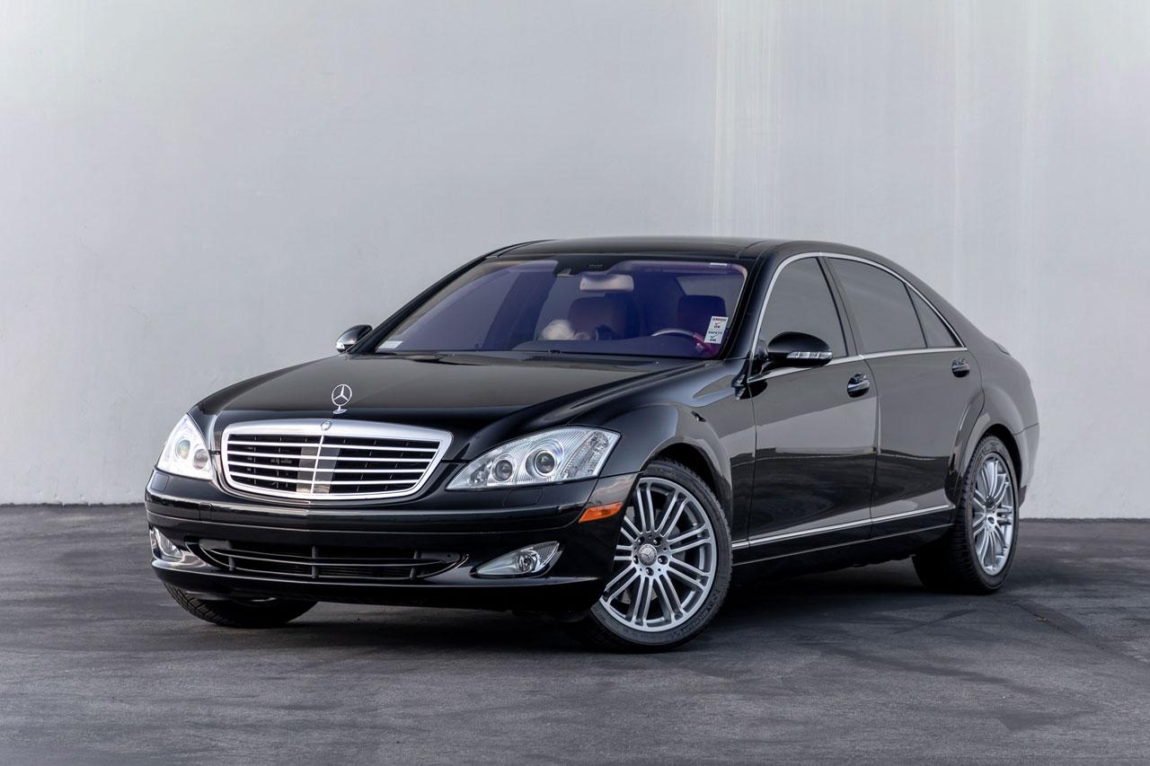 2008 Mercedes Benz S550 01 - خرید مرسدس S550 کارکرده بهجای سدان ارزانقیمت نو