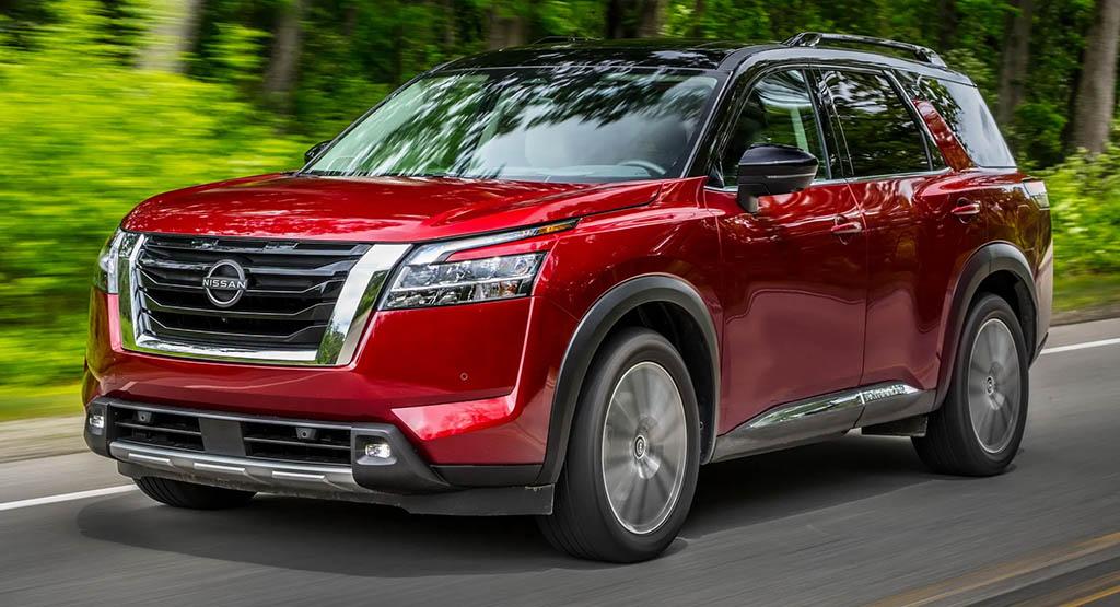 2022 Nissan Pathfinder 00 - قیمت و مشخصات نیسان پث فایندر مدل 2022