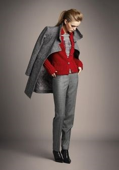 6ط - نحوه ست کردن لباس رنگ طوسی روشن و تیره | طرز ست کردن لباس طوسی
