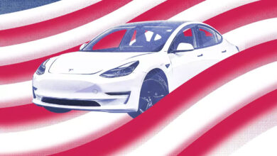 AMI21 flag art 6 390x220 - معرفی آمریکاییترین خودروهای سال 2021