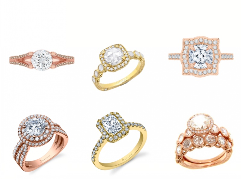 Model Golden ring - طرح های جدید و شیک مدل انگشتر طلا