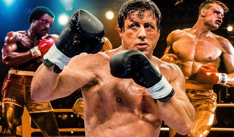 رکورد مسابقات، بردها و باخت های راکی بالبوآ در تمام فیلم های فرانچایز Rocky