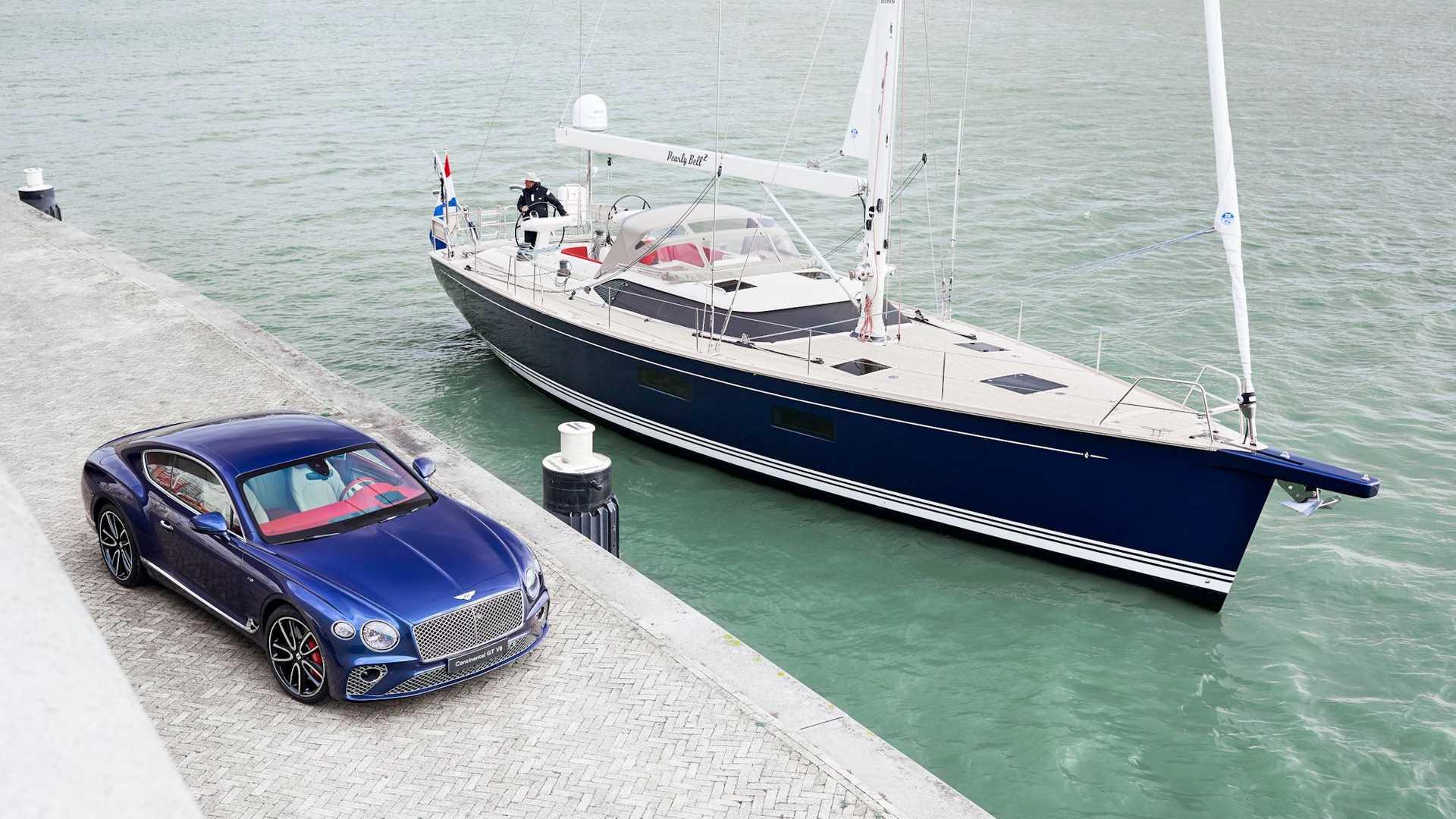 bentley contest 59 cs interior - طراحی کابین قایقی بسیار لوکس توسط بنتلی