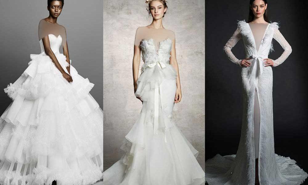 e7b296ce5761eb03898672900c5565dd donoghte.com  1000x600 - ۶۲ مدل لباس عروس جدید و شیک ۲۰۲۱ برای سورپرایز عروسهای لاکچری