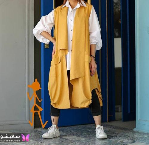 جدیدترین مدل مانتو تابستانی امسال با طرح های شاد و رنگ های جذاب