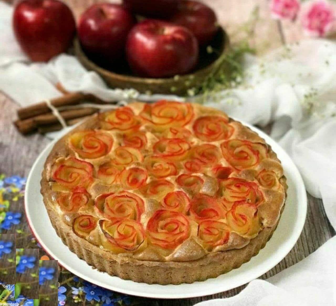 photo 2021 06 07 12 35 50 - طرز تهیه تارت سیب خوشمزه و عالی دسر ویژه مهمانی و دورهمی