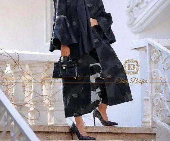 www.araas .ir 5 16 564x470 - گالری جدید مدل مانتو مجلسی مشکی برای خانم های شیک پوش