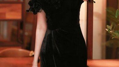 www.araas .ir 35 2 390x220 - مدل لباس مجلسی مشکی