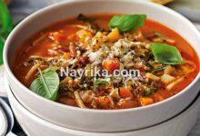 220x150 - سوپ مرغ: طرز تهیه سوپ مرغ مجلسی با جو پرک، ورمیشل / سوپ مرغ سرماخوردگی
