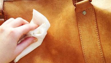 Leather bag 390x220 - از بین بردن خراش روی چرم، فلز، چوب، پلاستیک و شیشه