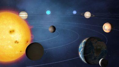 Planets of the solar system 3 390x220 - سیاره های منظومه شمسی و اطلاعات و دانستنی های جالب درباره آن ها