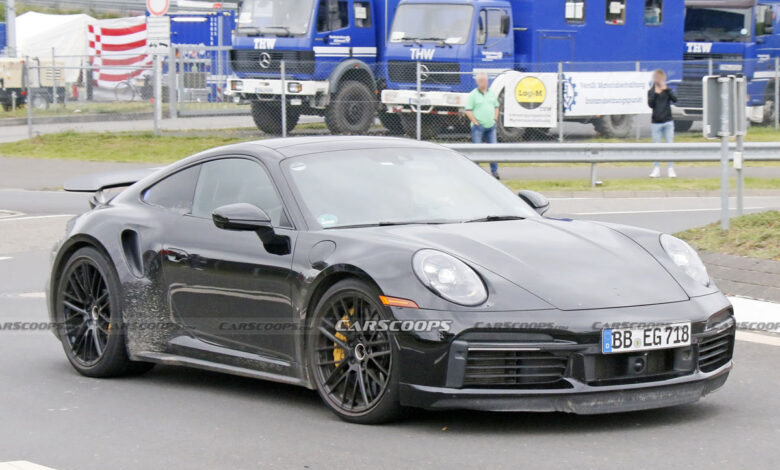 Porsche 911 1 780x470 - آزمایش پورشه 911 هیبریدی در نوربرگرینگ