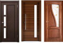 bedroom wooden doormain 220x150 - طرح جدید در چوبی اتاق خواب؛ 10 ایده مدرن و کارآمد