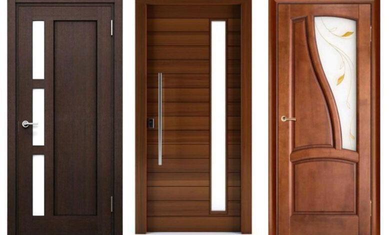 bedroom wooden doormain 780x470 - طرح جدید در چوبی اتاق خواب؛ 10 ایده مدرن و کارآمد