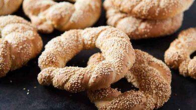 نان سیمیت 1 390x220 - طرز تهیه نان سیمیت ترکیه خوشمزه به طور کامل تصویری