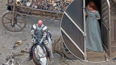 47498293 0 image a 10 1630745874818 390x220 - تازه ترین تصاویر فیلمبرداری سریال House Of The Dragon منتشر شد