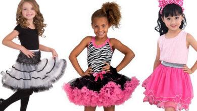Children skirts models 390x220 - عکس های مدل دامن بچه گانه فانتزی و زیبا