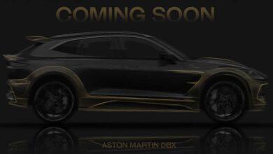 mansory aston dbx teaser 390x220 - کیت بدنه جدید منصوری برای پورشه 911 و استون مارتین DBX