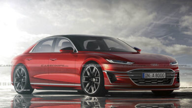 2025 Audi A8 CarScoops Future 6 2 390x220 - هر آنچه درباره آئودی A8 ای-ترون میدانیم