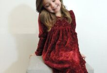 www.araas .ir 10 18 220x150 - مدل پیراهن مخمل دخترانه شیک